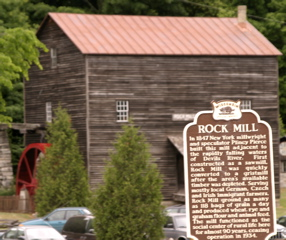 Historic Marker and Mill